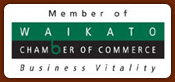 Member of Waikato Chamber of Commerce
